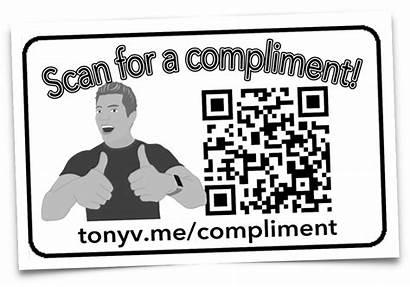 Random Messages Links Qr Code Take Tony
