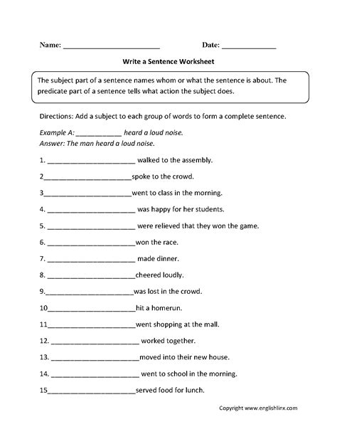 reading and writing worksheets for 2nd grade worksheets