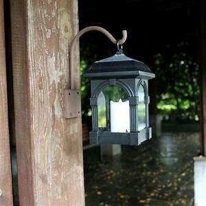 Solar, Candle, Lamp, Courtyard, Candlesticks, Solar, Powered, Hanging, Lantern, Light, Waterproof