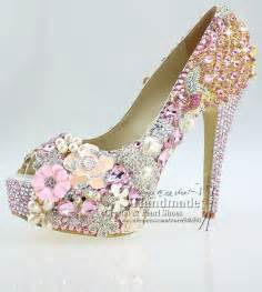 light pink wedding shoes pin by fifi papadopoulos on beautiful wedding shoes