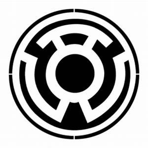 Yellow Lantern Corps Symbol Stencil | Free Stencil Gallery