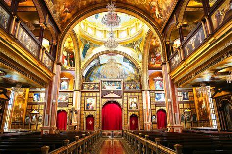 Die Koptische Orthodoxe Kirche Nach Innen Im Sharm El
