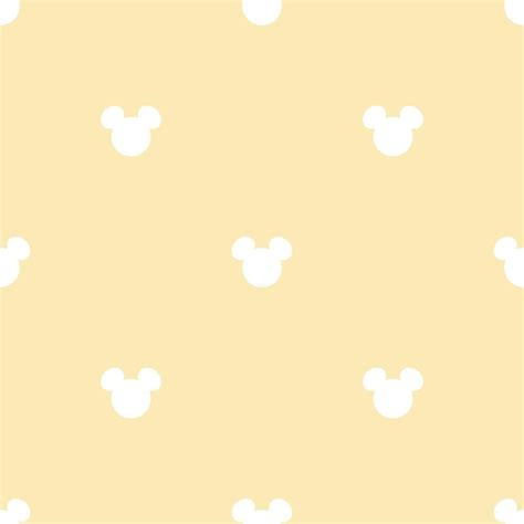 NEW GALERIE OFFICIAL DISNEY MICKEY MOUSE LOGO PATTERN