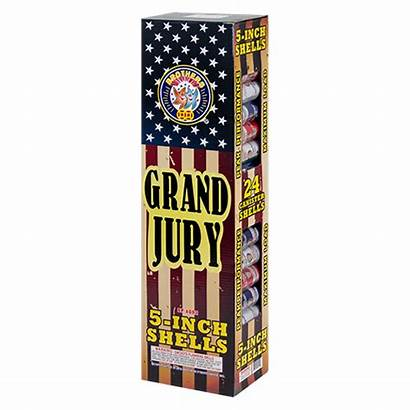 Jury Grand Shells Mortars Reloadable Canister Inch