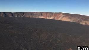 VIDEO: Kilauea, Mauna Loa Volcano Flyovers
