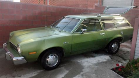 cylinder  speed  ford pinto wagon