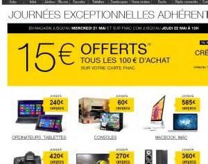 Promo Castorama 15 Par Tranche De 100 : fnac 15 euros de bon d 39 achat par tranche de 100 euros d ~ Dailycaller-alerts.com Idées de Décoration