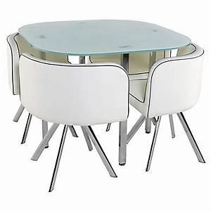 Table pas cher butfr for Table salle a manger ronde avec rallonge pour petite cuisine Équipée