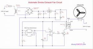Automatic Smoke Exhaust Fan Circuit