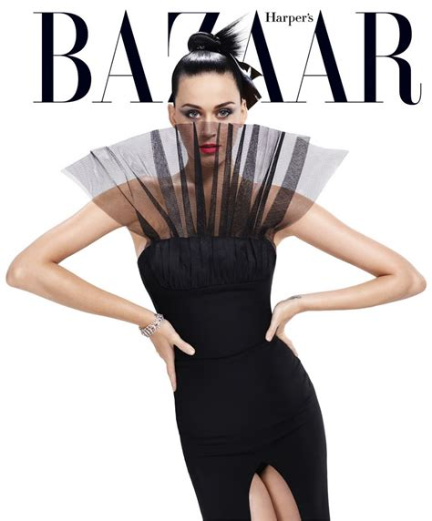 Katy Perry Harpers Bazaar Magazine Usa September 2015