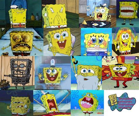 spongebob funny faces  weird faces  ragameechu