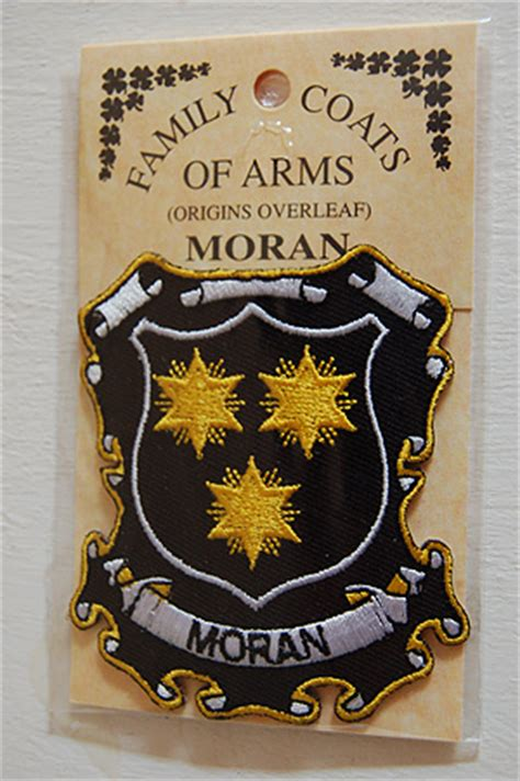 embroidered heraldic patches moran embroidered patch