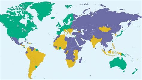 How Many Countries Are There In The World Youtube
