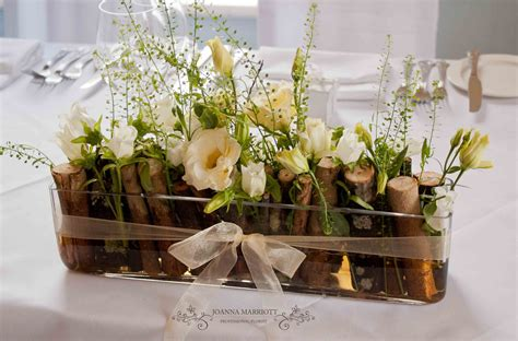 Tischgestecke In Glas by Glass Trough Table Arrangements For Top Table