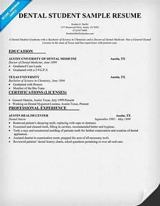 Objective For Certified Nursing Assistant Resumes Dental Student Resume Sample Dentist Health Dental