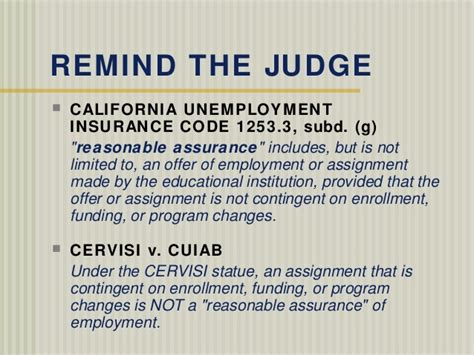 Unemployment insurance under california law specifically provides partial wage replacement benefit payments to workers who have their hours reduced through no fault of their own. California Insurance: California Unemployment Insurance Code