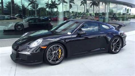black porsche 911 gt3 2014 basalt black porsche 911 gt3 475 hp porsche west