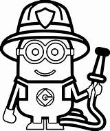 Firefighter Coloring Helmet Fire Fighter Printable Getcolorings Focus sketch template