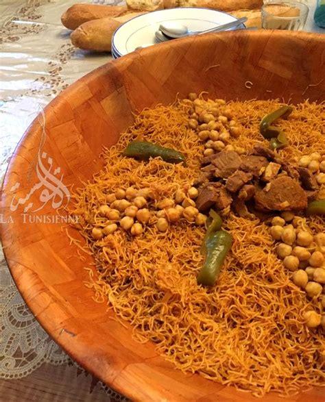 cuisiner couscous vermicelles tunisiennes à la vapeur douida mfawra