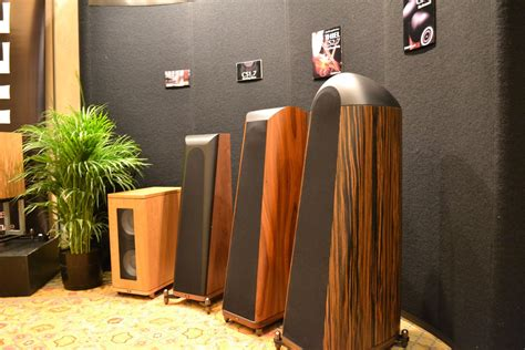 thiel debutes cs  demos cs loudspeakers  ces