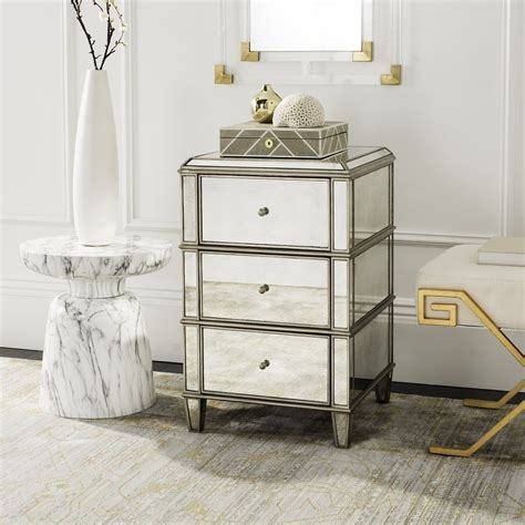 mirrored nightstand and dresser loccie better homes