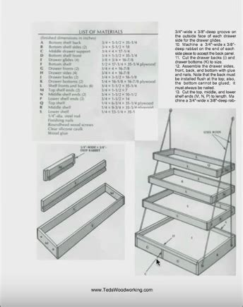 teds woodworking  sample teds wood working plans