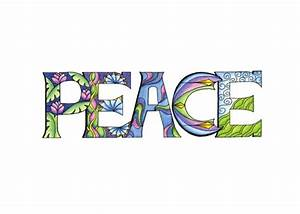 Peace Word Clip Art | www.pixshark.com - Images Galleries ...