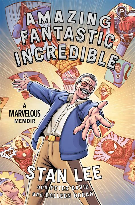fantastic amazing incredible stan lee books comic marvel comics memoir autobiography graphic marvelous edizioni bd novels hulk legend biography schuster