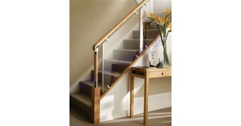 fusion clear acrylic landing stair panels