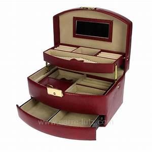 Boite A Bijoux Cuir : boite a bijoux en cuir visuel 7 ~ Teatrodelosmanantiales.com Idées de Décoration