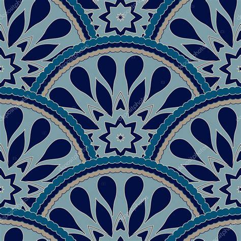 cadre motif patchwork sans soudure de fleur floral color 233