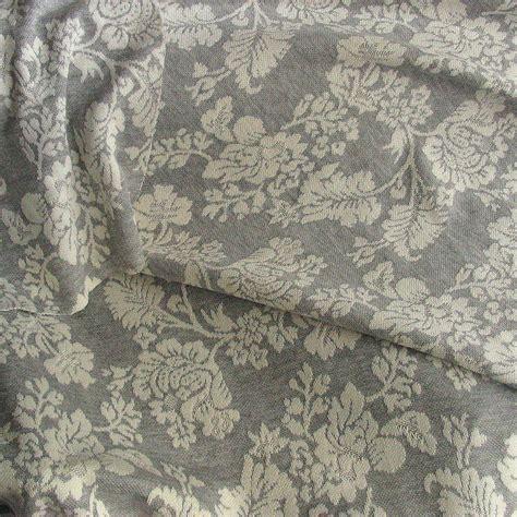 Grau Stoff by Jersey Stoff Gemustert Als Blumen Bl 228 Tter Dessin In Grau