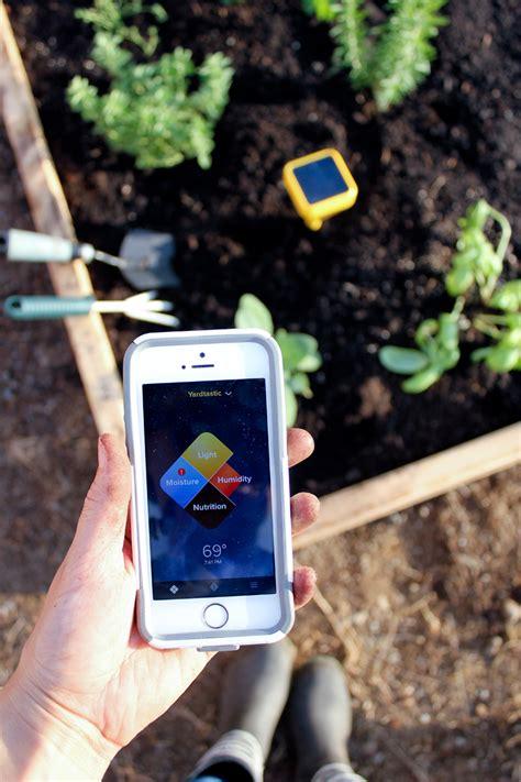 Garden Sensor by Striped Raised Garden Beds Edyn Garden Sensor Review