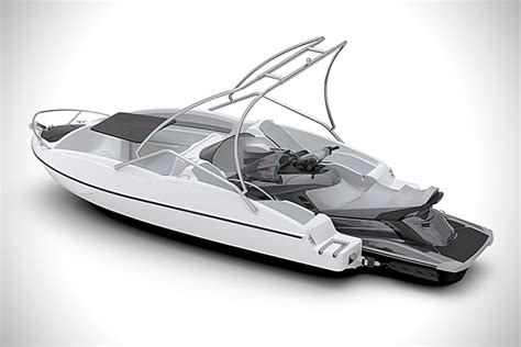 Jet Ski Boat Extension by Sealver Jet Ski Powered Wave Boat 525 Hiconsumption