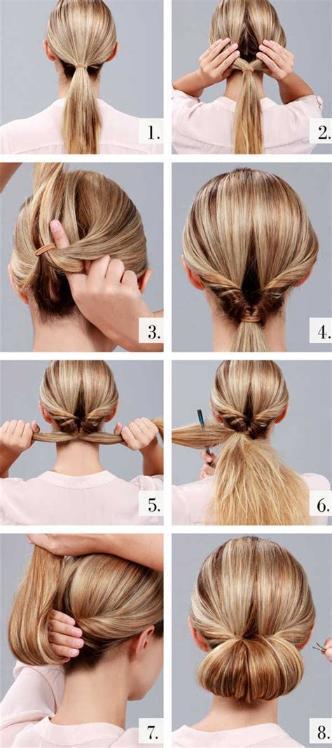 10 easy feminine and wedding updo hairstyles with steps easy wedding updo