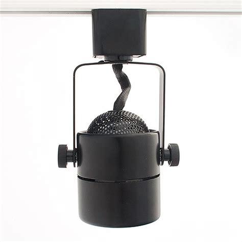 gu10 mr16 black mini track light fixture
