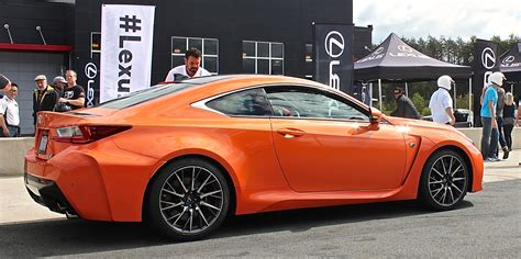 rcf lexus orange 2015 lexus rc f track day