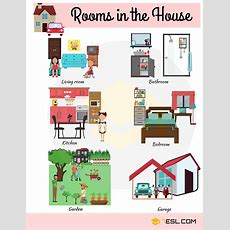 House Vocabulary Things Around The House With Pictures  Business  English Vocabulary, English