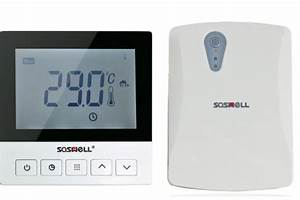 Underfloor Heating Wifi Thermostat For Water Heater With