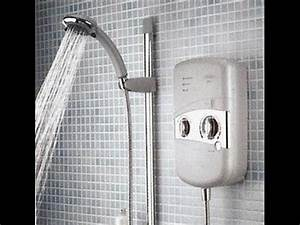 How to increase the pressure from your shower - YouTube
