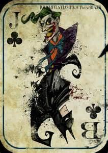 Batman Joker Card Tattoo