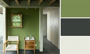 Peinture Vert De Gris : quelles couleurs se marient avec le vert m6 ~ Melissatoandfro.com Idées de Décoration