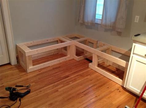 How To Build Kitchen Nook Bench by How To Make A Custom Breakfast Seating Nook Recipe In
