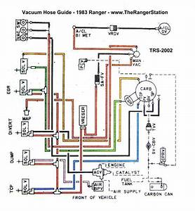 5 Best Images Of Ford Ranger Vacuum Lines Diagram