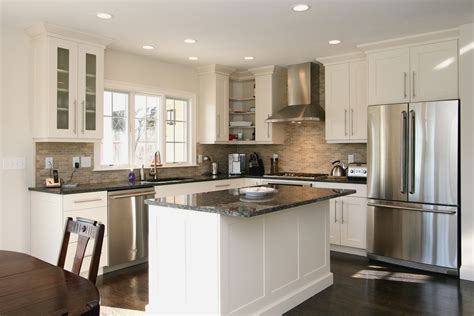 find cool  shaped kitchen design   home