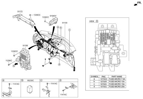 Genuine Kia Junction Box Assembly Instrument
