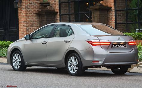 Toyota Corolla Altis Modification by Toyota Corolla Altis Facelift Edit Launched At Rs 15 88