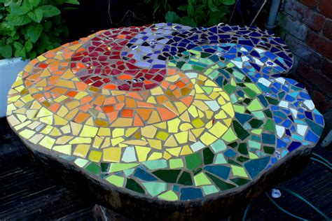 mosaic tree stump httplometscom