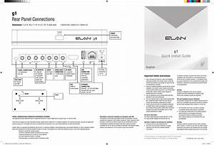 Core G12014 System Controller User Manual 9901340 Elan