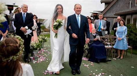 george  bushs daughter barbara  married  secret